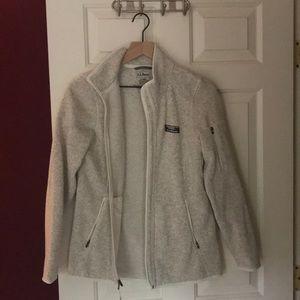 LL Bean fleece jacket